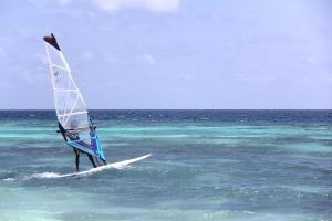 Windsurfing v penzionu nebo okolí