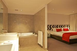 Ванная комната в Zero Davey Boutique Apartment Hotel