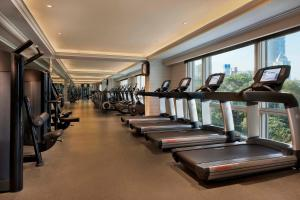The fitness center and/or fitness facilities at The Peninsula Shanghai