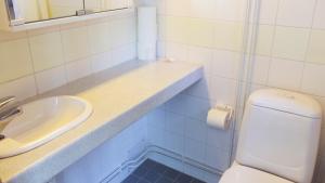 Kylpyhuone majoituspaikassa Summer Hotel Alkio / Tähtelä