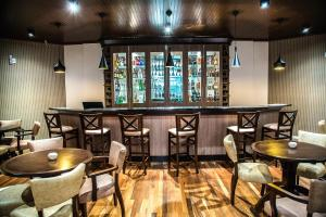 O lounge ou bar de Gaboardi Park Hotel