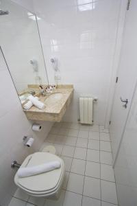 Um banheiro em Gaboardi Park Hotel
