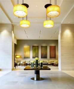 The lobby or reception area at The Westin Bellevue