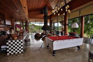 A pool table at 180 Sanctuary at Puripai Villa