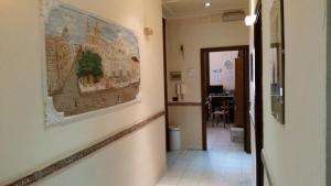 A kitchen or kitchenette at Hotel Gorizia