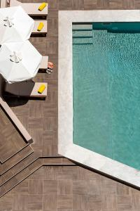 A view of the pool at Kriti Hotel or nearby