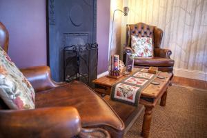 A seating area at La Fosse at Cranborne