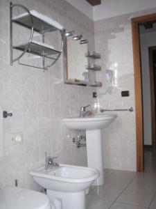 A bathroom at Hotel Annia