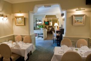 A restaurant or other place to eat at Aherne's Townhouse Hotel and Seafood Restaurant