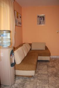 Кът за сядане в Семеен Хотел Алфа Вита