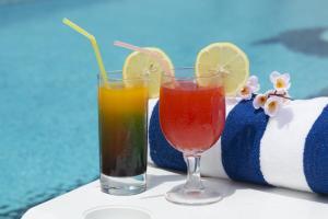 المشروبات في فندق جيت واي