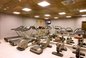 Gimnasio o instalaciones de fitness de Hotel Val de Neu G.L.