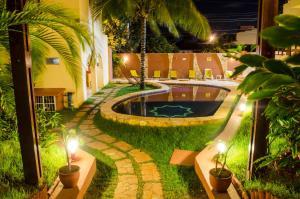 The swimming pool at or near Hotel Palmanova