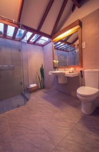 A bathroom at Ranweli Holiday Village