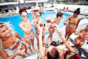 The swimming pool at or near Ryans Ibiza Apartments - Only Adults