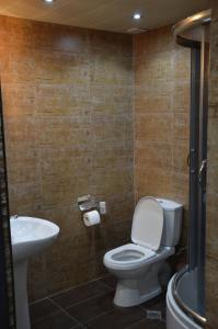 Ванная комната в Hotel Bagineti