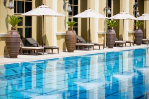 The swimming pool at or near Oaks Ibn Battuta Gate Dubai