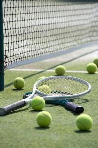Tennis and/or squash facilities at Agapi Beach Resort Premium All Inclusive or nearby