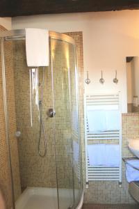 Un baño de Apartment Mosca