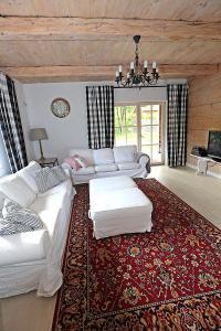 Łóżko lub łóżka w pokoju w obiekcie Miętowa Dolina