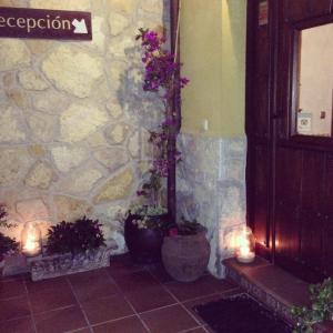 Un baño de Hotel Rural La Lluriga