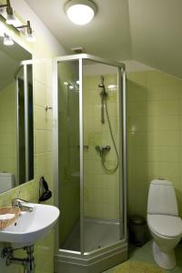 A bathroom at Spa Hotel Ezeri