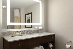 A bathroom at DoubleTree by Hilton Hotel Boston Bayside