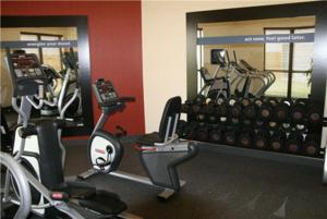 The fitness center and/or fitness facilities at Hampton Inn & Suites Bastrop
