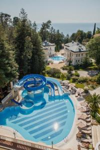 A view of the pool at Ostrova Spa Hotel or nearby