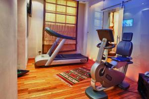 The fitness centre and/or fitness facilities at Grand Hotel Wagner