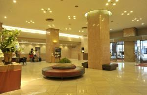 The lobby or reception area at New Otani Inn Sapporo