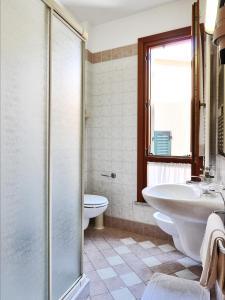 Ванная комната в Albergo Bice