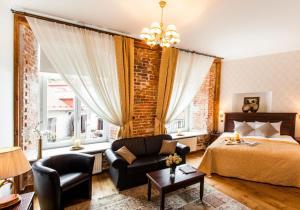 Oleskelutila majoituspaikassa The von Stackelberg Hotel Tallinn