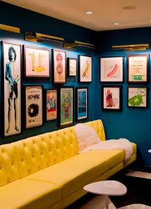 A seating area at The Verb Hotel