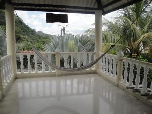 A balcony or terrace at Casa de Huespedes Villa Hermosa