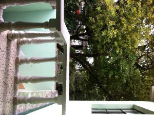 A balcony or terrace at Hotel El Portal