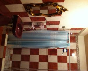 A bathroom at Hotel El Portal