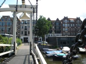 A balcony or terrace at Amsterdam Prince Island by YAYS