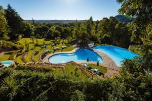 Uma vista da piscina em Hotel Fonte Santa ou nas proximidades