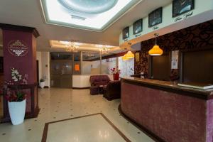 The lobby or reception area at President Hotel