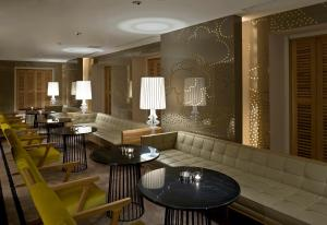A restaurant or other place to eat at Witt Istanbul Suites