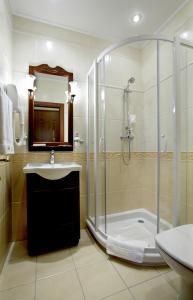 Ванная комната в Бизнес Отель Спорт