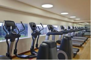 The fitness center and/or fitness facilities at Sheraton Lima Hotel & Convention Center