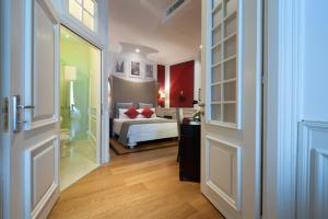 Letto o letti in una camera di Hotel Bologna ***S