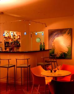 The lounge or bar area at Can Verdera