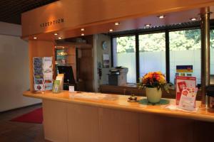 Lobby/Rezeption in der Unterkunft Hotel Grunewald