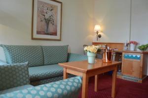 Гостиная зона в Arkaden Hotel