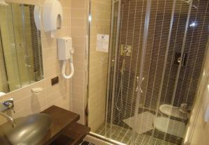 Ванная комната в Hotel Mari 2