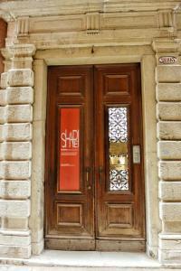 The facade or entrance of Foresteria Levi