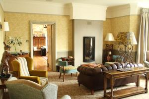 A seating area at Ilsington Country House Hotel & Spa